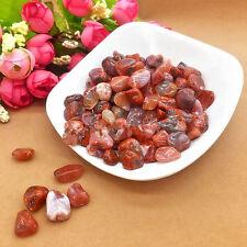 50g 100% NATURAL Carnelian Tumbled Stones Lots Rough/Specimen NICE