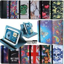 """For 7"""" 8"""" 10"""" Samsung Galaxy Tab Tablet Folio Leather Rotating Stand Cover Case"""