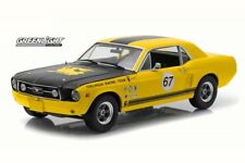 1967 Terlingua Continuation Mustang 67 Yellow Greenlight 12934 1/18 Diecast Car