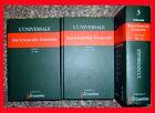 L'UNIVERSALE - ENCICLOPEDIA GENERALE in 3 volumi, Garzanti 2003 le garzantine