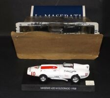 MASERATI 420 M ELDORADO - 1958 FROM MASERATI COLLECTION SCALA 1/43 DE AGOSTINI