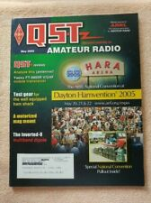 May 05 QST Mag Inverted-U / Yaesu FT-8800R / Fan Dipole / Antenna Analyzers / Ad