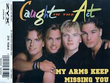 CAUGHT IN THE ACT : MY ARMS KEEP MISSING YOU / 4 TRACK-CD
