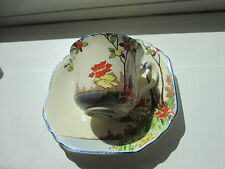 BELLISSIMO VINTAGE HAND PAINTED Art Nouveau Wedgwood & Co LD Tazza da té e piattino