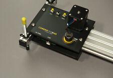 Camera slider - Motorised, variable speed, programmable & TOTALLY quiet