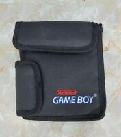 Vintage Original Nintendo Gameboy Carrying Case Travel Pouch Game Boy Black