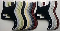 Precision Bass Pickguard fits US scratchplate - various colours