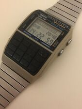 Reloj Casio DBH-112 Watch Calculator Data Bank 1985 Japan