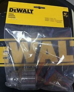 DEWALT DW5353 1/2 IN. CHUCK AND KEY ORIGINAL