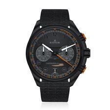 EDOX Chronorally Chronograph Black Dial Men's 43mm Watch 09503 37NNONAN NNO