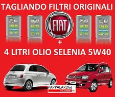 KIT TAGLIANDO ORIGINALE FIAT PANDA / 500 / YPSILON 1.3 MULTIJET + OLIO SELENIA