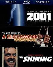 2001: A Space Odyssey / a Clockwork Orange / The Shining [Blu-ray]