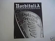 advertising Pubblicità 1971 ASSICURAZIONI NORDITALIA