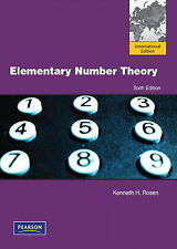 Elementary Number Theory by Kenneth H. Rosen (Paperback, 2010)
