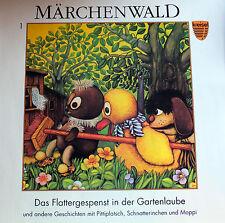 Sandmann - DDR -  Pittiplatsch - Das Fattergespenst in der Gartenlaube - LP -Neu