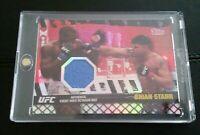 #8/8 Brian Stann Rare Ruby Mat Relic Card 2010 Topps Series 4 UFC ebay 1/1