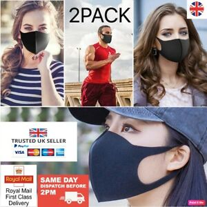 Face Mask Covering Protection Washable Breathable Dust Stretch Royal Mail 1ST CL