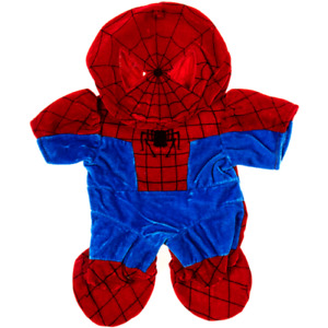 8-10 inch Red & Blue Spider-Man Costume  - teddy bear stuffed animal clothes