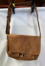 Vintage Murse Pony Express Passport Leather Messenger Bag Carryall Laptop *A47