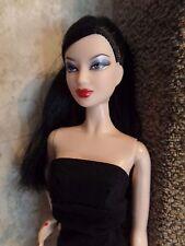 Barbie Model Muse Lea Back to basics in black dress black hair brown eyes (3)