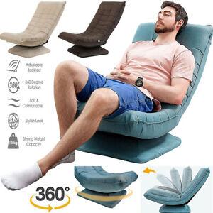 360 Degree Folding Lazy Sofa Chair Ergonomic Swivel Adjustable Floor Game Chair