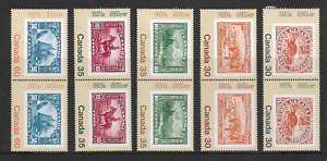 1982 CANADA - INTERNATIONAL. PHILATELIC YOUTH EXHIBITION - SET IN PAIRS - MNH