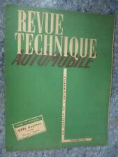 RTA Revue Technique Automobile Num 94 de 1954 Opel Kapitan,Moteur Buda,Floirat