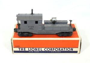 Postwar Lionel 6420 DL&W Work Caboose w/Searchlight (1950)~All Orig~w/Nice OB