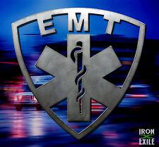 EMT Paramedic EMS First Responder Metal Wall Art Sign Medical Office Gift Idea