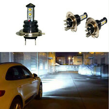 1 pair 6500K White H7 20W CREE LED Bulb Fog DRL Driving Light Head Lamp Lights