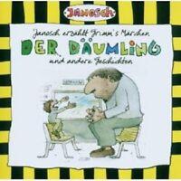 JANOSCH - JANOSCH ERZÄHLT GRIMMS MÄRCHEN - DER DÄUMLING  CD HÖRBUCH KINDER NEW