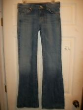 SEVEN FOR ALL MAN KIND WOMEN'S DENIM JEANS SIZE 28 INSEAM 33""
