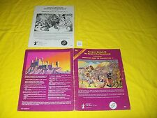 B2 The Keep On The Borderlands Dungeons & Dragons Tsr 9034 12 True 1St Print