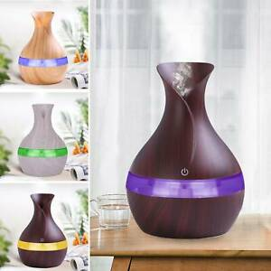 LED Electric Air Diffuser Aroma Oil Humidifier USB Charge Home Relaxing Defuse