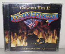 2 CD MOLLY HATCHET - GREATEST HITS II - NUOVO NEW