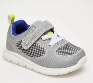 Baby Boys' Trainee Sneakers - Just One You® made by carter's Gray Size 4