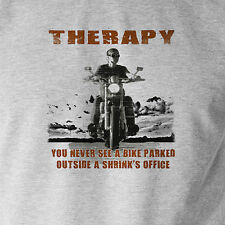 THERAPY You won't see a moto motero Camiseta Regalo Ideal moto bicicleta