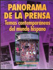 Panorama de la Prensa : Temas Contemporaneos del Mundo Hispano - Ibarra