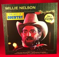 The Very Best Of Willie Nelson 1986 vinyl LP EXCELLENT CONDITION greatest hits