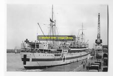 rp6629 - Hospital Ship - Wanganella , built 1929 - photo 6x4