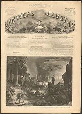 LE FREISCHUTZ OPERA WEBER THEATRE LYRIQUE IMPERIAL GRAVURE 1866