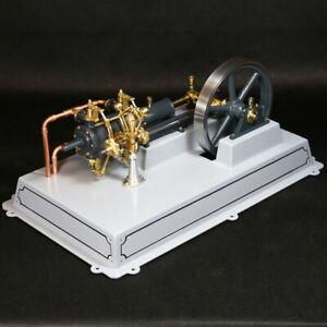 """Liegende Ventilgesteuerte Dampfmaschine """"Isabel"""" Bausatz Bengs Modellbau"""