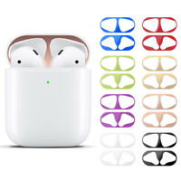 Metal Dust Guard sticker for AirPods Case Cover Dust-proof Protective StickerLD