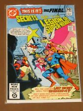 "SECRETS OF THE LEGION OF SUPER-HEROES #3 FN/VF ""REVELATION!"" SUPERBOY BRIDWELL"