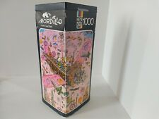 Heye Jigsaw Puzzle 1000 Pieces Mordillo Fasten Seat Belts 1974 100% Complete
