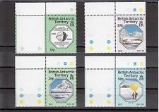 TIMBRE STAMP  4  BAT ANTARTIC Y&T#164-67 BASE POLAIRE  NEUF**/MNH-MINT1987 ~A03