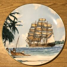 "Royal Doulton Ltd Ed Collector'S Plate ""Bora Bora "" 1981"