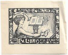 EDMOND VAN OFFEL: Exlibris für Dr. A. Demets