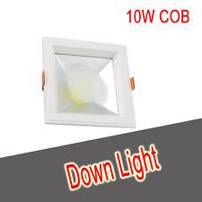 * 10W COB Downlight Proyector LED Blanco Brillante Cocina Techo Techo por día