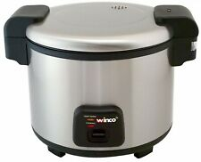 Winco RC-S300 Advanced Electric Rice Cooker/Warmer with Hinged Cover